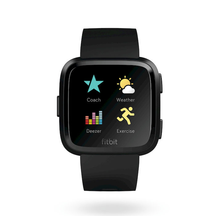 FITBIT Versa - Alluminio Nero - thumb - MediaWorld.it