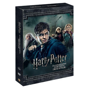 Harry Potter - La collezione completa degli 8 film - DVD - MediaWorld.it