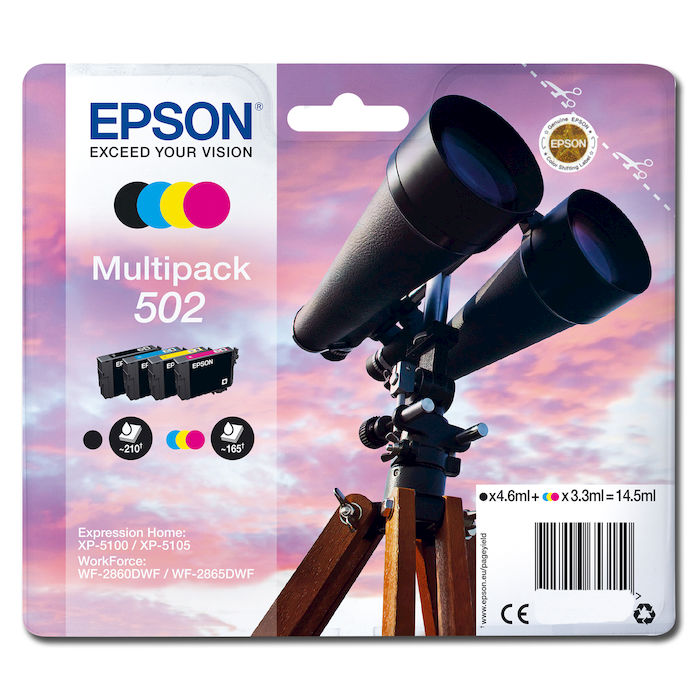 EPSON Cartuccia  T02V6 4 Colori - thumb - MediaWorld.it