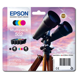 EPSON Multipack Inkjet Binocolo 502 - MediaWorld.it