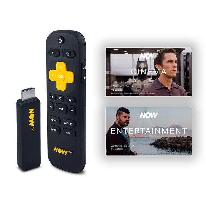 NOW TV Smart Stick - Cinema, serie TV o intrattenimento - thumb - MediaWorld.it