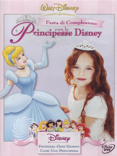 Festa di compleanno con le pricipesse Disney - DVD - thumb - MediaWorld.it