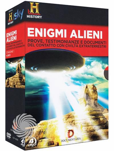 Enigmi alieni - Prove, testimonianze e documenti del contatto con civiltà extraterrestri - DVD - Stagione 1 - thumb - MediaWorld.it