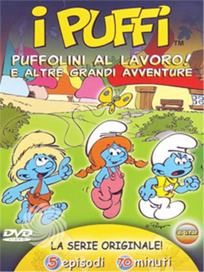 I Puffi - Puffolini al lavoro - DVD - thumb - MediaWorld.it