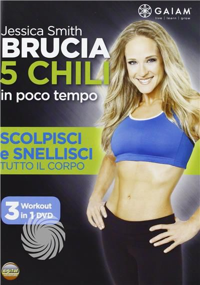 Brucia 5 chili in poco tempo - Scolpisci e snellisci tutto il corpo - DVD - thumb - MediaWorld.it