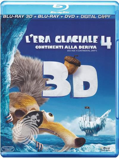L'era glaciale 4 - Continenti alla deriva - Blu-Ray  3D - thumb - MediaWorld.it
