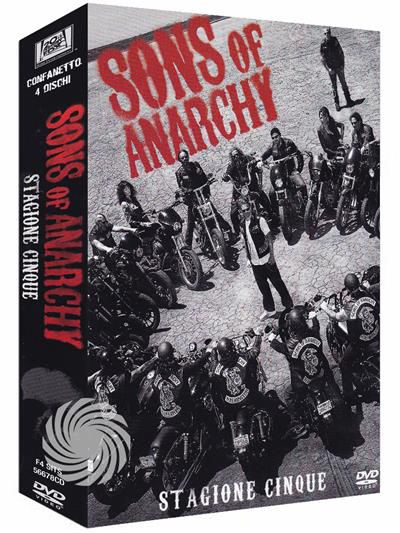 Sons of anarchy - DVD - Stagione 5 - thumb - MediaWorld.it