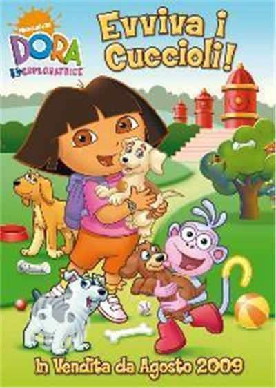 Dora l'esploratrice - Evviva i cuccioli! - DVD - thumb - MediaWorld.it