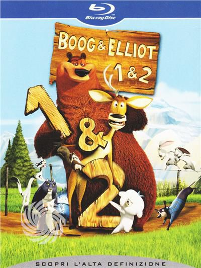 Boog & Elliot 1 & 2 - Blu-Ray - thumb - MediaWorld.it