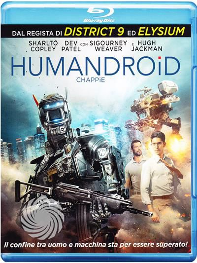 Humandroid - Chappie - Blu-Ray - thumb - MediaWorld.it