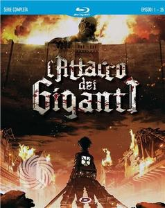 L'ATTACCO DEI GIGANTI  - THE COMPLETE SERIES - Blu-Ray - thumb - MediaWorld.it