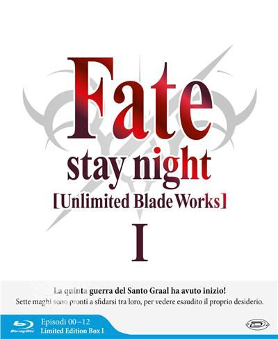 FATE/STAY NIGHT - UNLIMITED BLADE WORKS - STAGIONE - Blu-Ray - thumb - MediaWorld.it