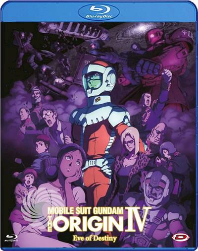 MOBILE SUIT GUNDAM - THE ORIGIN IV - EVE OF DESTIN - Blu-Ray - thumb - MediaWorld.it