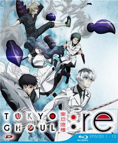 Tokyo Ghoul: Re - Stagione 03 Box 01 - Blu-Ray - thumb - MediaWorld.it