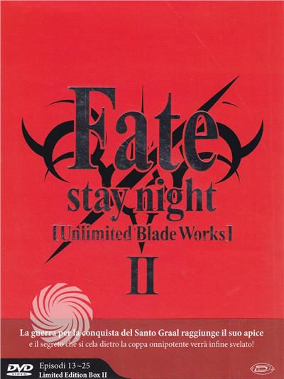 FATE/STAY NIGHT - UNLIMITED BLADE WORKS - STAGIONE - DVD - thumb - MediaWorld.it