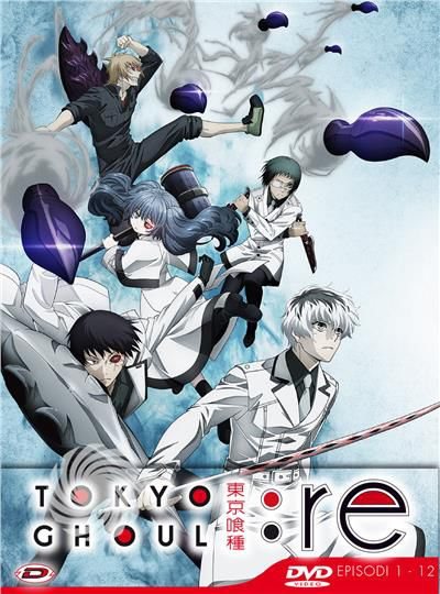 Tokyo Ghoul: Re - Stagione 03 Box 01 - DVD - thumb - MediaWorld.it