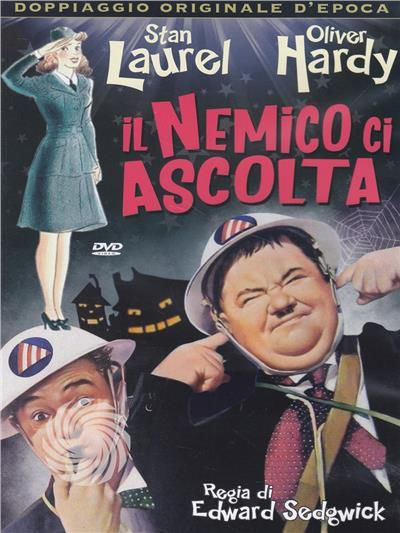 IL NEMICO CI ASCOLTA - DVD - thumb - MediaWorld.it