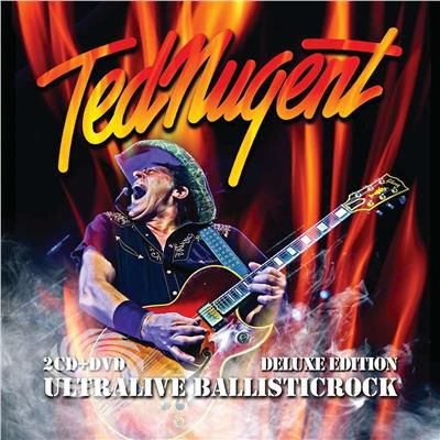 Nugent,Ted - Ultralive Ballisticrock (2cd/Dvd Deluxe Edition) - CD - thumb - MediaWorld.it
