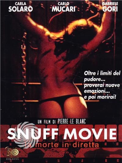 SNUFF MOVIE - LA MORTE IN DIRETTA - DVD - thumb - MediaWorld.it