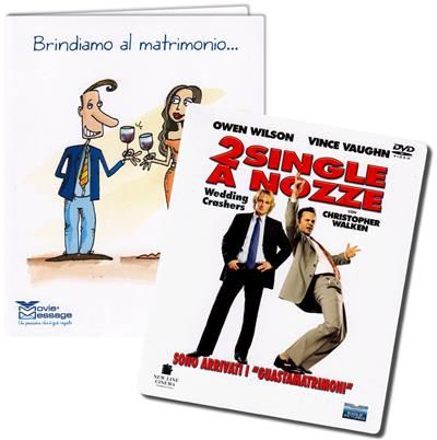 Biglietto auguri - 2 single a nozze - DVD - thumb - MediaWorld.it
