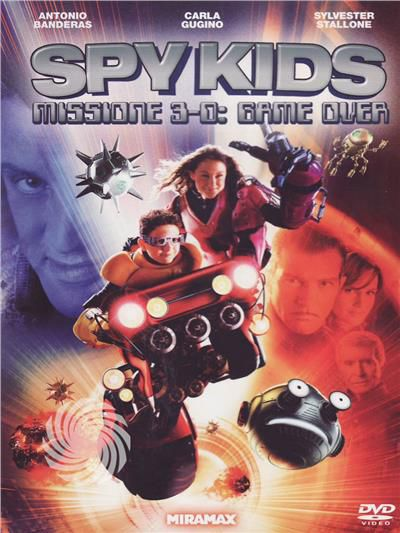 Spy kids - Missione 3D - Game over - DVD - thumb - MediaWorld.it