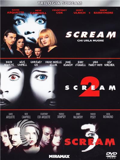 Trilogia Scream - DVD - thumb - MediaWorld.it