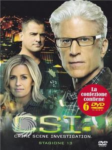 CSI - Crime Scene Investigation - DVD - Stagione 13 - MediaWorld.it