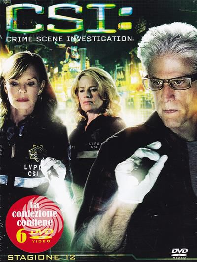 CSI - Crime Scene Investigation - DVD - Stagione 12 - thumb - MediaWorld.it