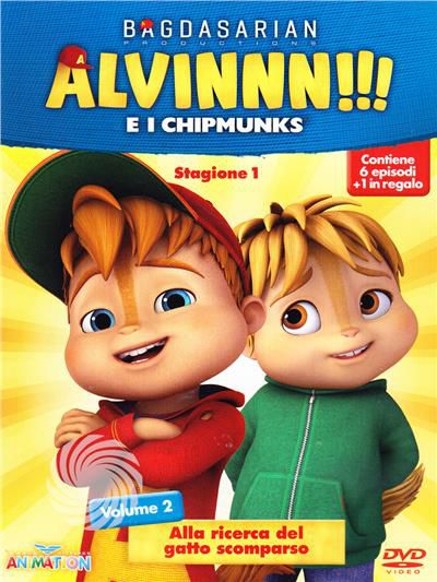 Alvinnn!!! e i Chipmunks - DVD - Stagione 1 - thumb - MediaWorld.it