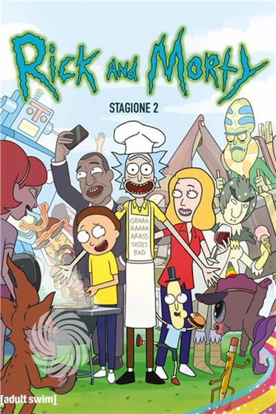 Rick and Morty - Blu-Ray - thumb - MediaWorld.it