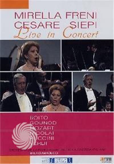 Mirella Freni & Cesare Siepi - Live in concert - DVD - thumb - MediaWorld.it