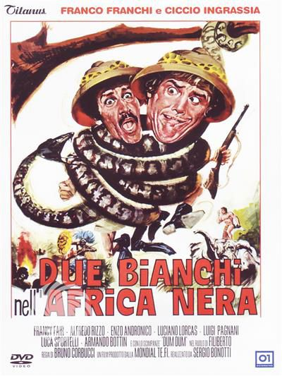 Due bianchi nell'Africa nera - DVD - thumb - MediaWorld.it