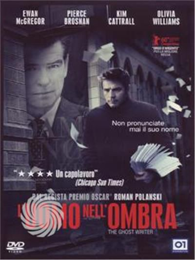 L'uomo nell'ombra - The ghost writer - DVD - thumb - MediaWorld.it