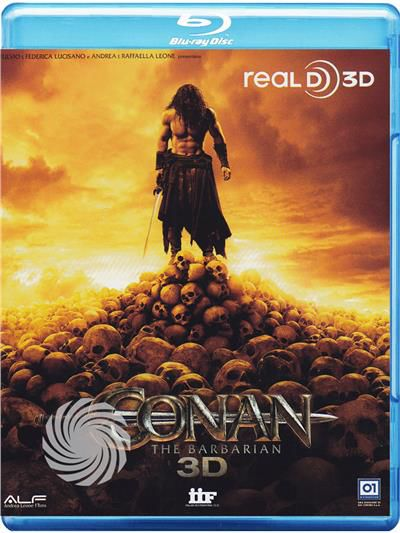 Conan - The barbarian - Blu-Ray  3D - thumb - MediaWorld.it