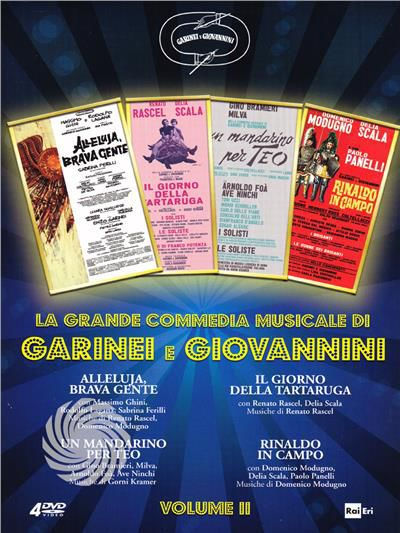 La grande commedia musicale di Garinei e Giovannini - DVD - thumb - MediaWorld.it