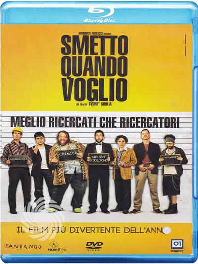Smetto quando voglio - Blu-Ray - thumb - MediaWorld.it