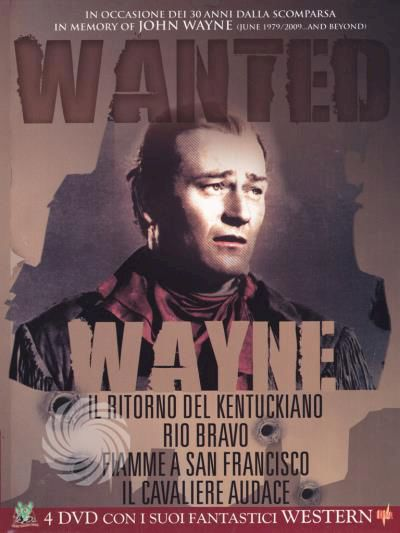 John Wayne - Wanted - DVD - thumb - MediaWorld.it