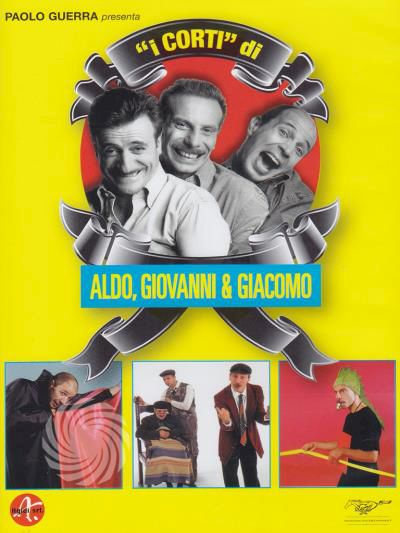 Aldo, Giovanni & Giacomo - I corti - DVD - thumb - MediaWorld.it