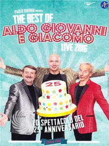 The best of Aldo Giovanni e Giacomo - Live 2016 - DVD - thumb - MediaWorld.it