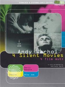 Andy Warhol - 4 silent movies - 4 film muti - DVD - thumb - MediaWorld.it