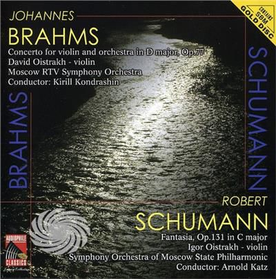 Brahms/Schumann - Violin Concerto Fantasia Opera 131 - CD - thumb - MediaWorld.it