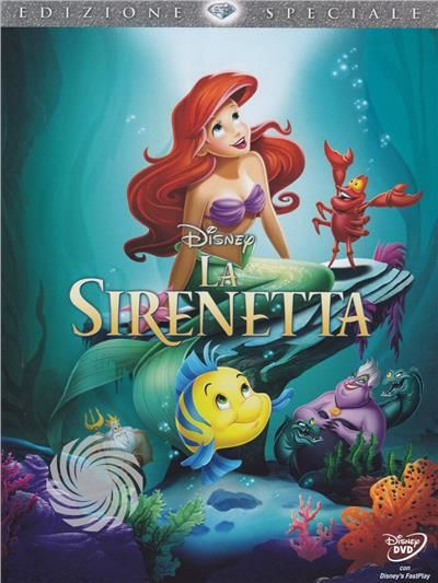 La sirenetta - DVD - thumb - MediaWorld.it