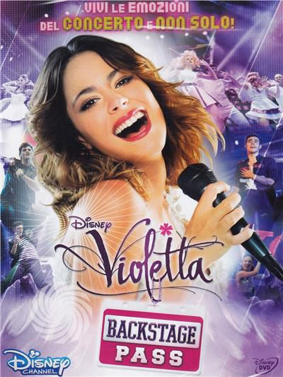 Violetta - Backstage pass - DVD - thumb - MediaWorld.it