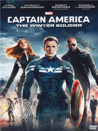 Captain America - The winter soldier - DVD - thumb - MediaWorld.it