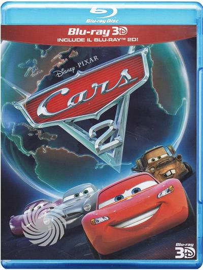 Cars 2 - Blu-Ray  3D - thumb - MediaWorld.it