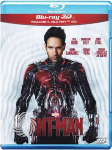 Ant-man - Blu-Ray  3D - thumb - MediaWorld.it