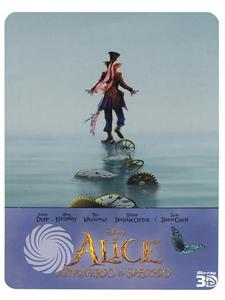 Alice attraverso lo specchio - Blu-Ray 3D Steelbook - MediaWorld.it
