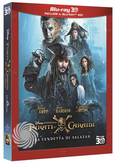 PIRATI DEI CARAIBI - LA VENDETTA DI SALAZAR - Blu-Ray  3D - thumb - MediaWorld.it