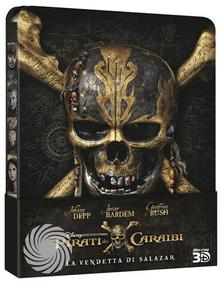 PIRATI DEI CARAIBI - LA VENDETTA DI SALAZAR - Blu-Ray 3D Steelbook - MediaWorld.it