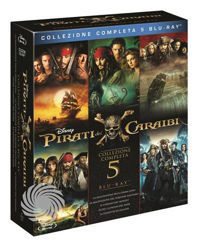 PIRATI DEI CARAIBI - 1+2+3+4+5 - Blu-Ray - thumb - MediaWorld.it